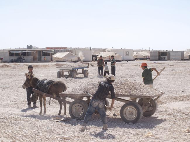 Flüchtlingslager Za'atari, Jordanien